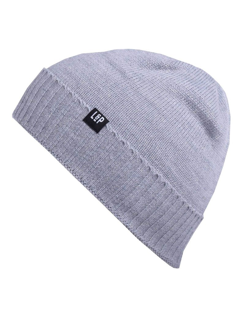 L&P Apparel Grey Merino Toque