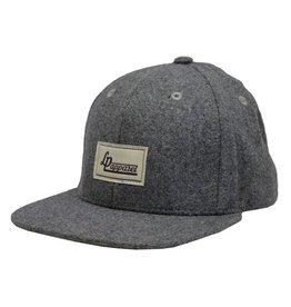 L&P Apparel Grey Seattle Baseball Hat
