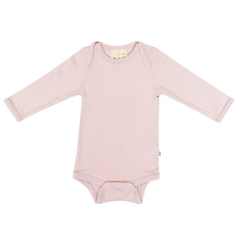 Kyte Baby Blush Bamboo LS Bodysuit