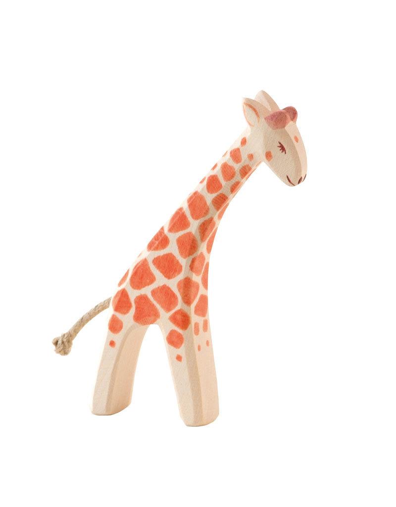 Ostheimer Wooden Toys Giraffe Small Head Low