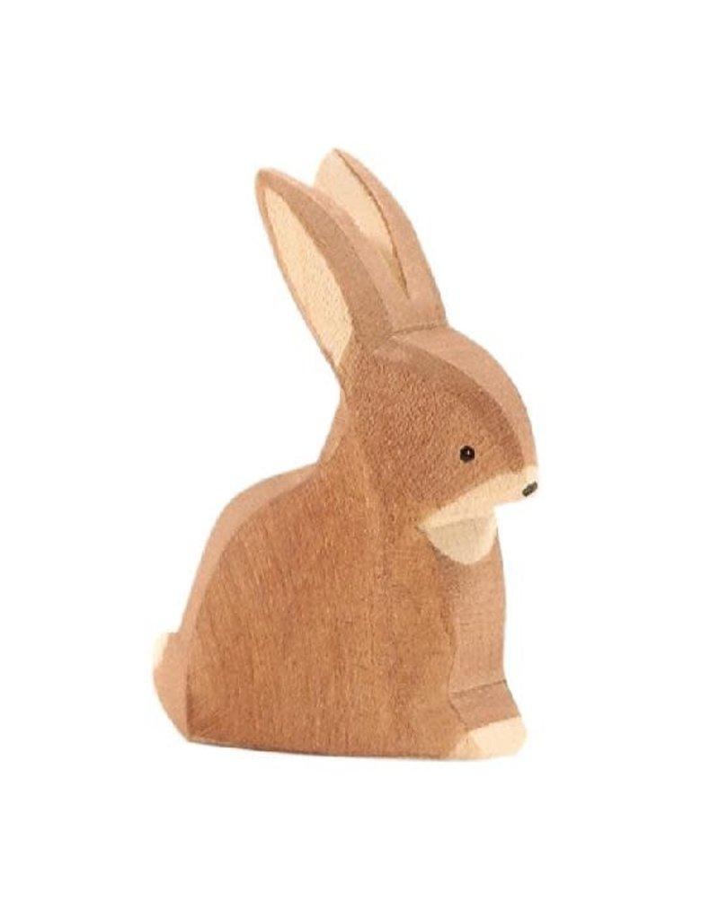 Ostheimer Wooden Toys Rabbit Sitting