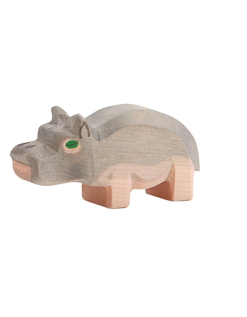 Ostheimer Wooden Toys Hippopotamus Small