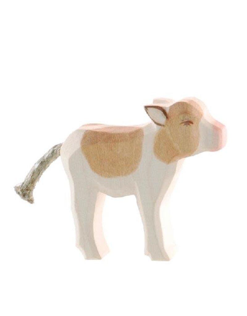 Ostheimer Wooden Toys Calf Standing - Brown