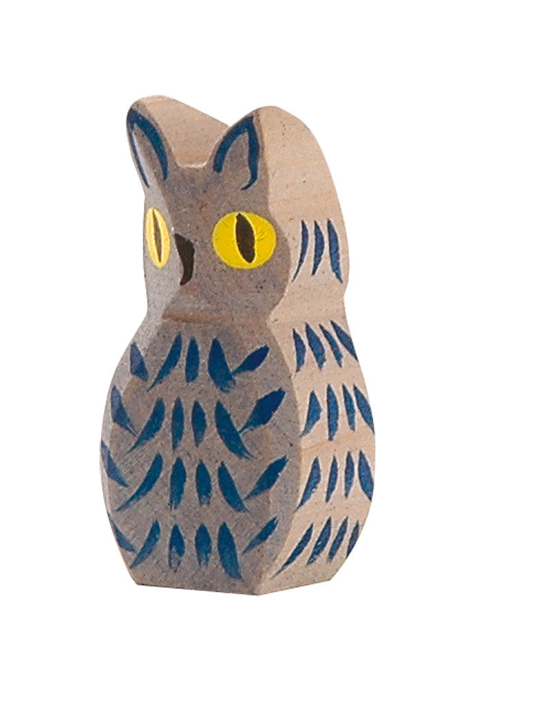Ostheimer Wooden Toys Owl Blue