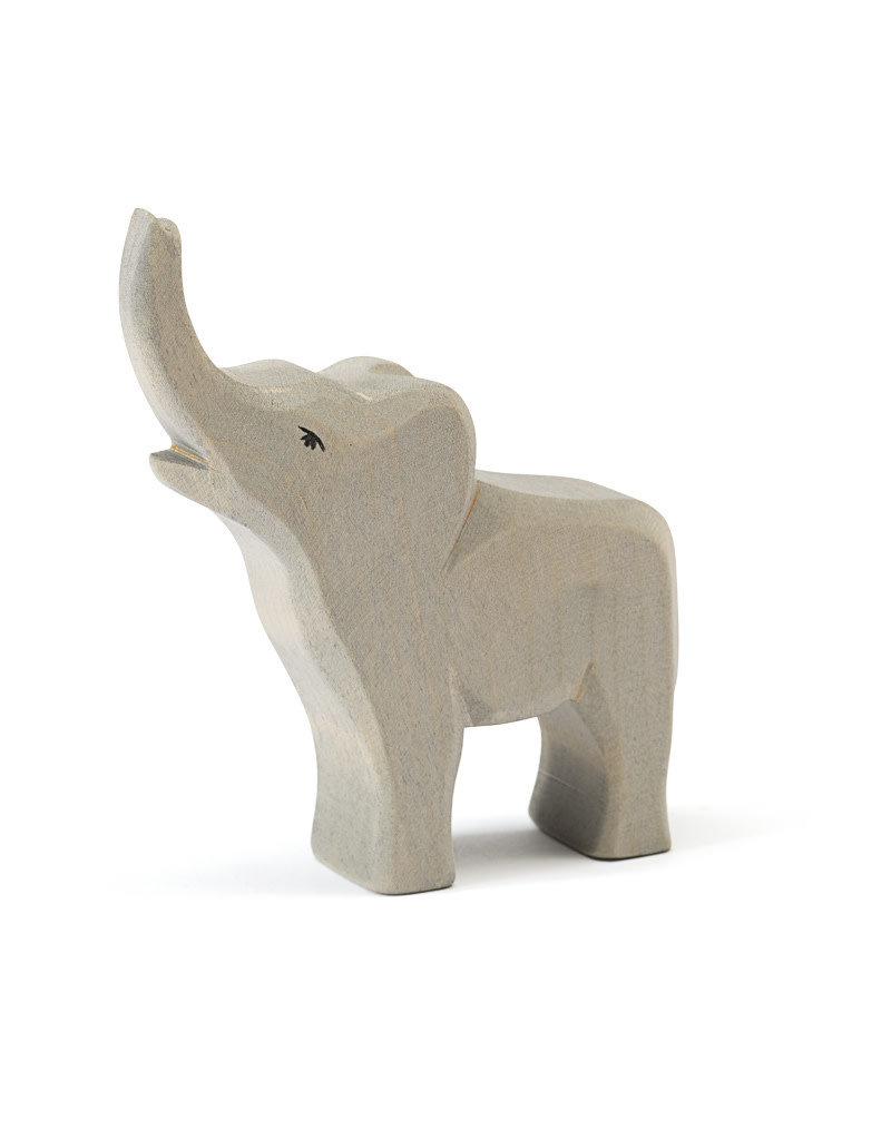 Ostheimer Wooden Toys Elephant Small Trumpeting