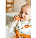 Loulou Lollipop Born to be Wild Learning Spoon/Fork Set - Lion