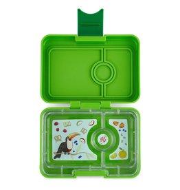 Mini Snack - 3 Compartment Avocado Green