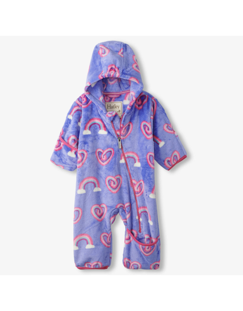 Hatley Twisty Rainbow Heart Baby Bundler