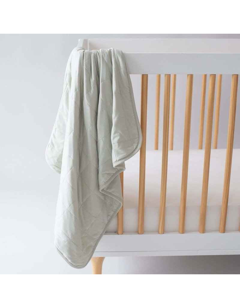 Kyte Baby Baby Blanket In Aloe