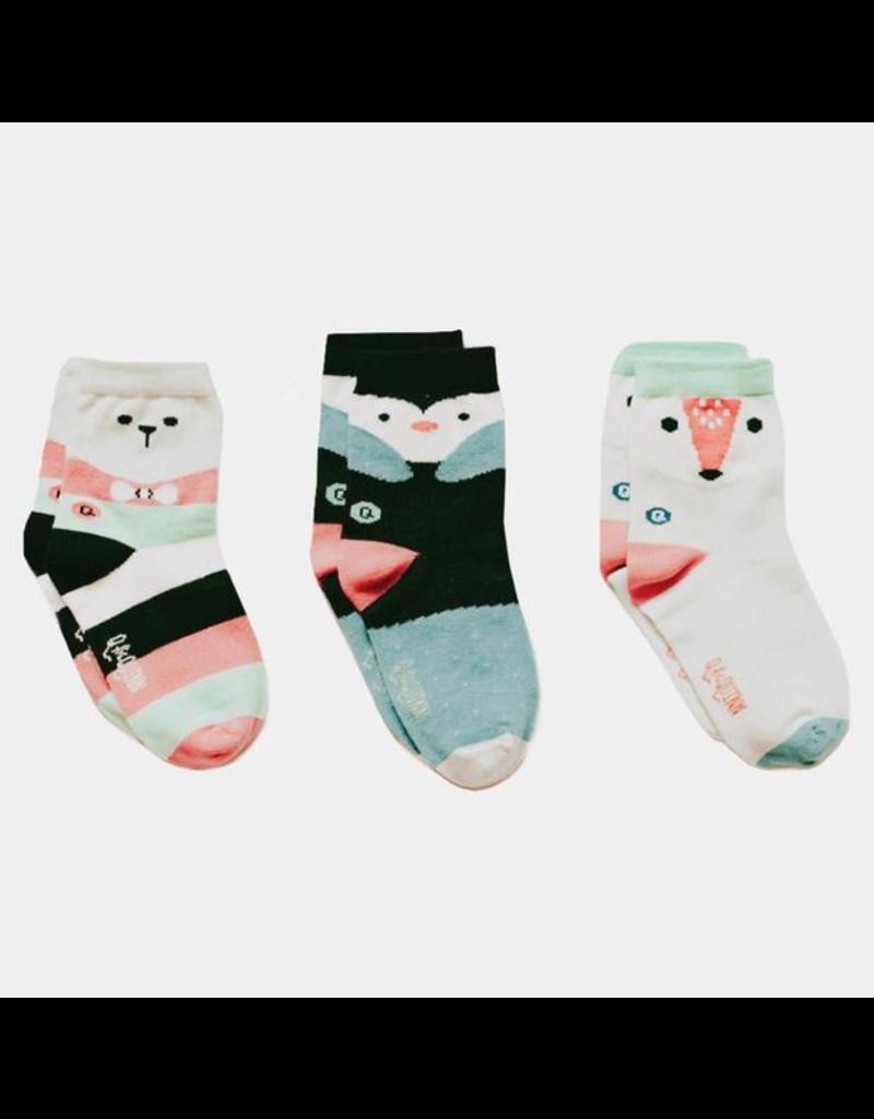 Arctic Animals Sticky Socks