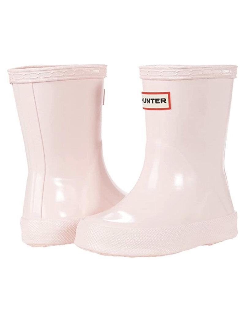 Hunter Boots Kid's First Hunter Gloss Boots Salt Pink