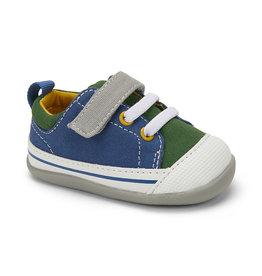 See Kai Run Stevie II First Walkers Blue/Green