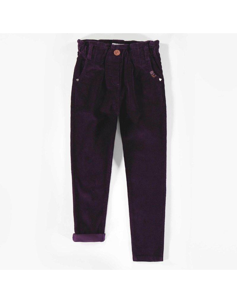 Souris Mini Mauve Corduroy Pants