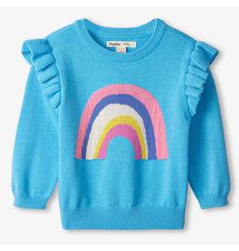 Hatley Rainbow Baby Ruffle Sweater