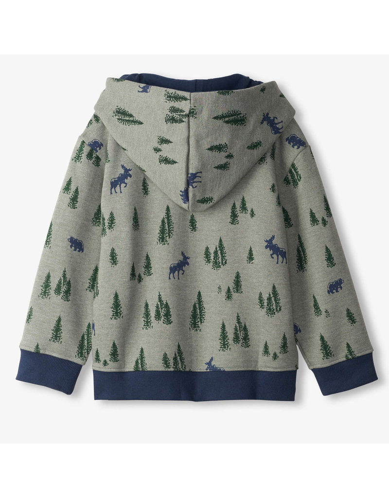 Hatley Pine Forest Pull Over Hoodie