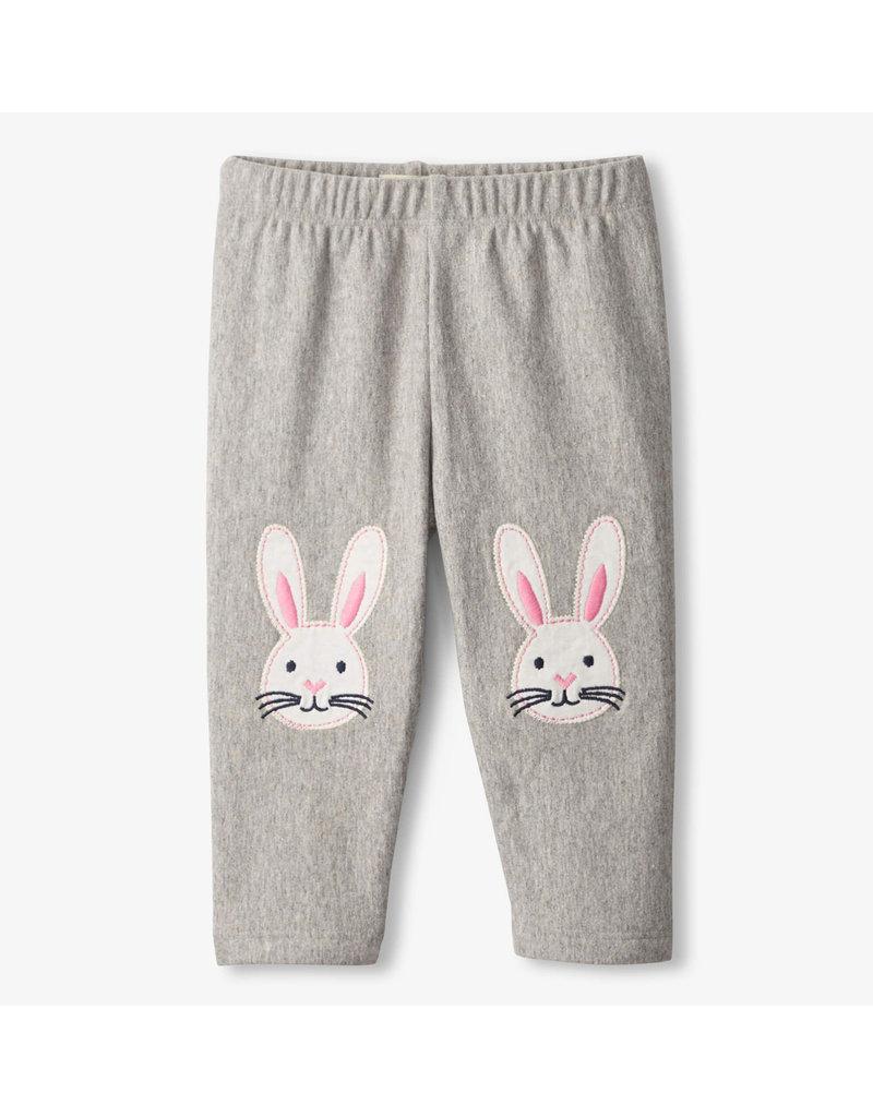 Hatley Bunnies Cozy Baby Leggings