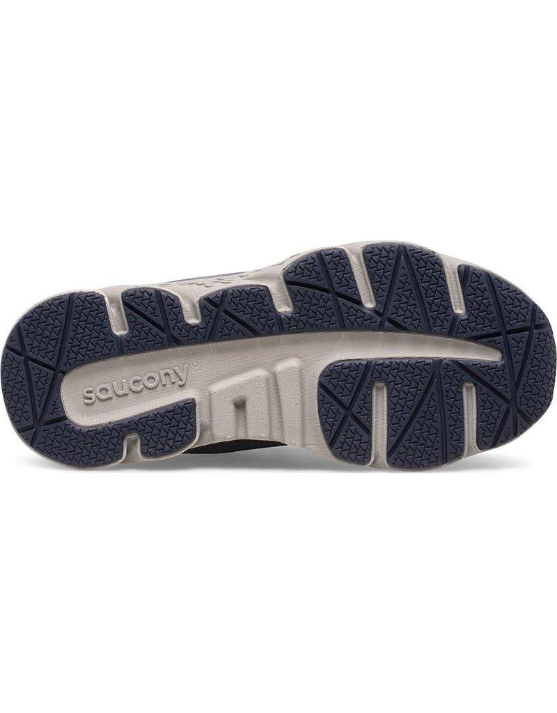 Saucony Little Kid's Wind Shield A/C Jr. Sneaker Navy/Grey