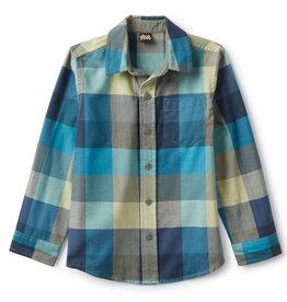 Tea Collection Plaid Button Shirt