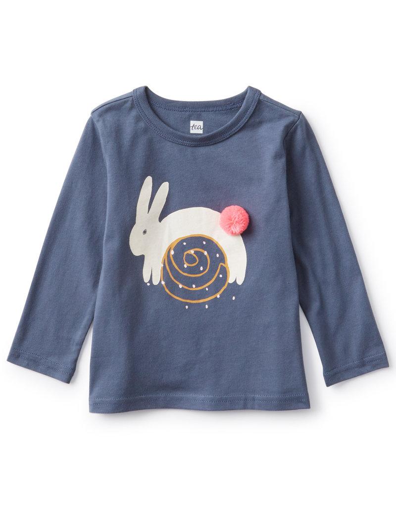 Tea Collection Toddler Cinnamon Bunny LS Tee
