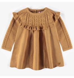 Souris Mini Caramel Knit Dress