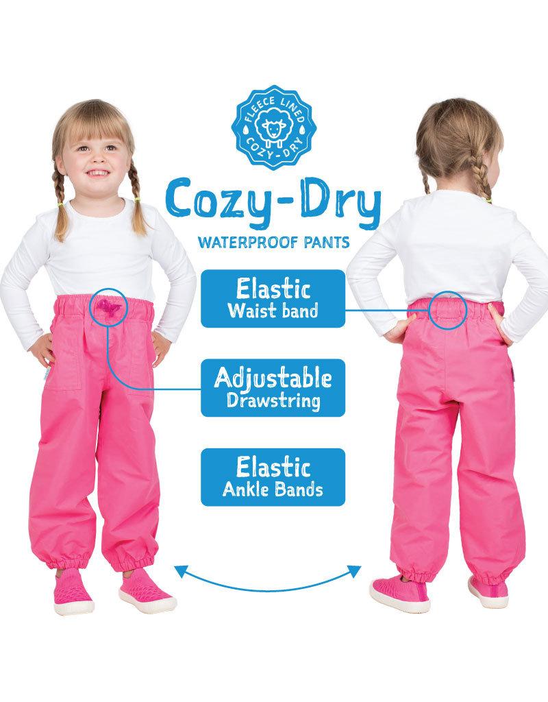 Jan & Jul Cozy-Dry Rain Pants Yellow