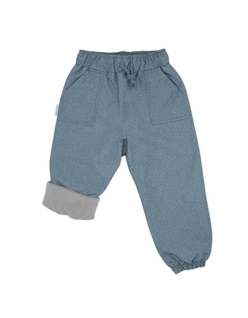 Jan & Jul Cozy-Dry Rain Pants Grey
