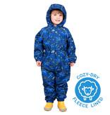 Jan & Jul Cozy-Dry Waterproof Play Suit Constellations