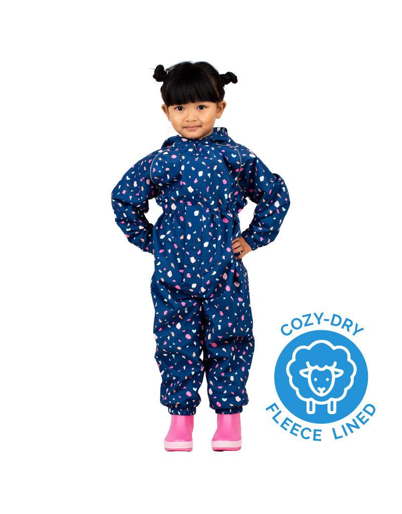 Jan & Jul Cozy-Dry Waterproof Play Suit Terrazzo
