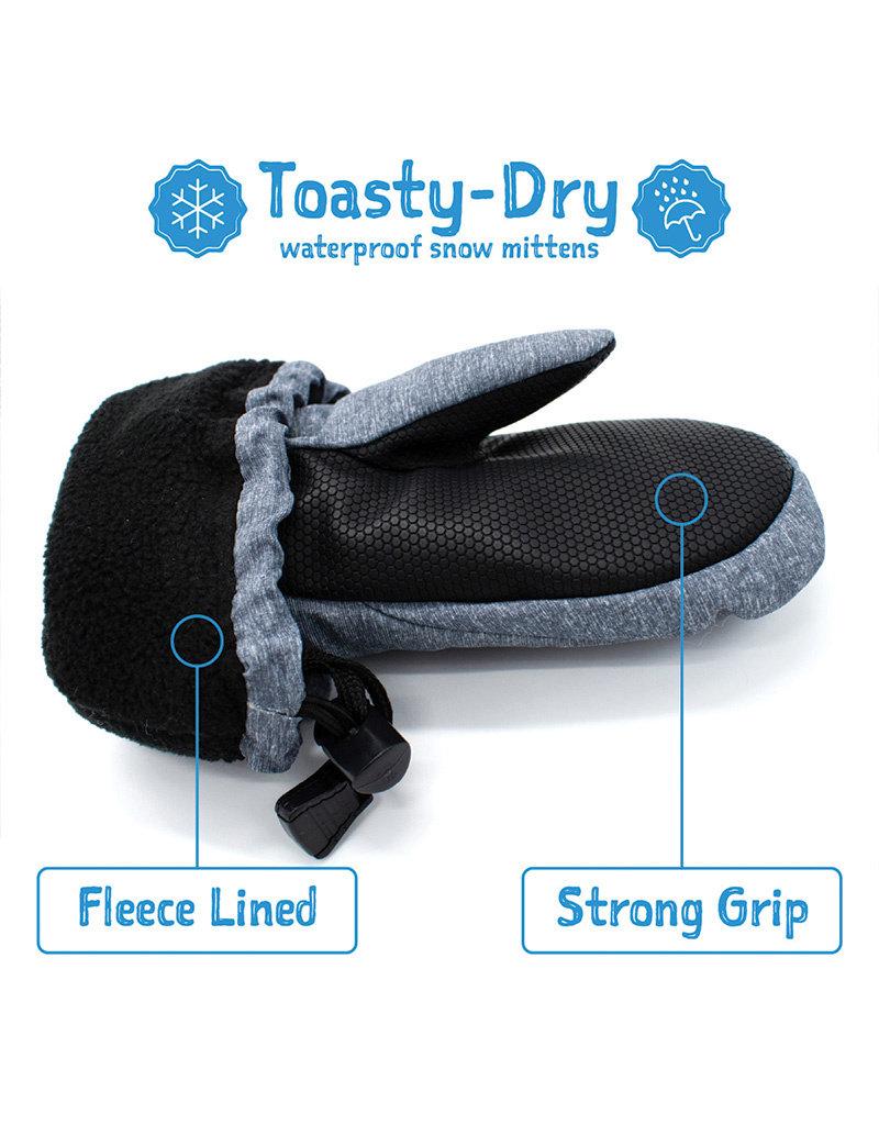 Jan & Jul Toasty-Dry Waterproof Mitten Mint Star