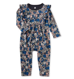 Tea Collection Floral Ruffle Romper