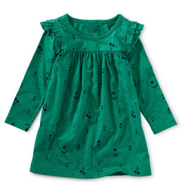 Tea Collection Folklore Baby Ruffle Dress
