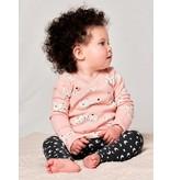 Tea Collection Lynx Wrap Top Baby Set