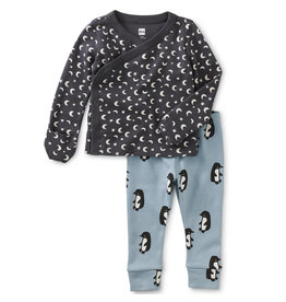 Tea Collection Starry Wrap Top Baby Set