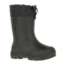 Kamik Youth Snobuster Winter Boots, Black