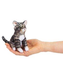 Folkmanis Finger Puppet - Tabby Cat