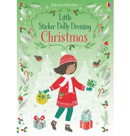 Usborne Little Sticker Dolly Dressing: Christmas