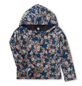 Tea Collection Hooded Floral Top