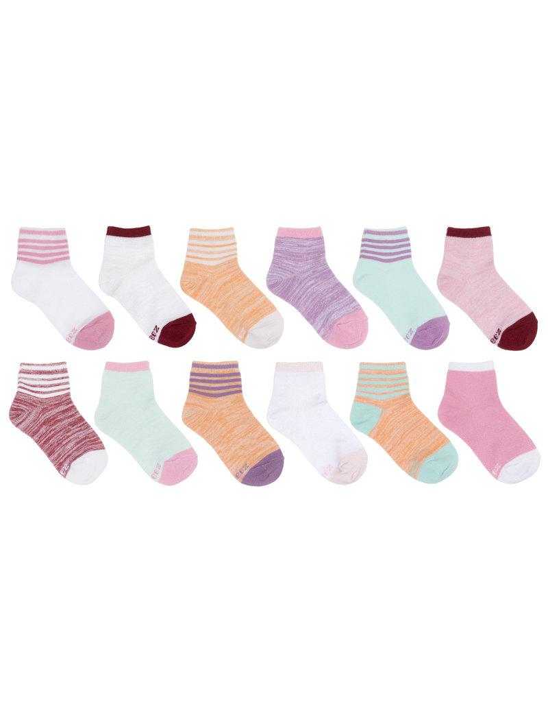 Bright Free Run Recycled Socks 12pk