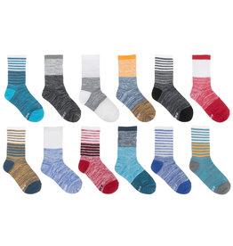 Colourblock Recycled Socks 12pk