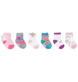Magical Unicorn Baby Sock 6pk