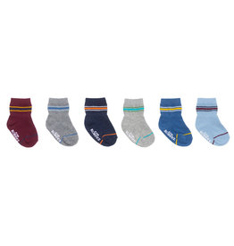 Varsity Stripes Baby Sock 6pk