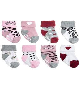 Little Kitty Baby Sock 8pk