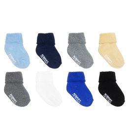 Solid Terry Baby Sock 8pk