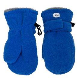 Cobalt Blue Fleece Mittens
