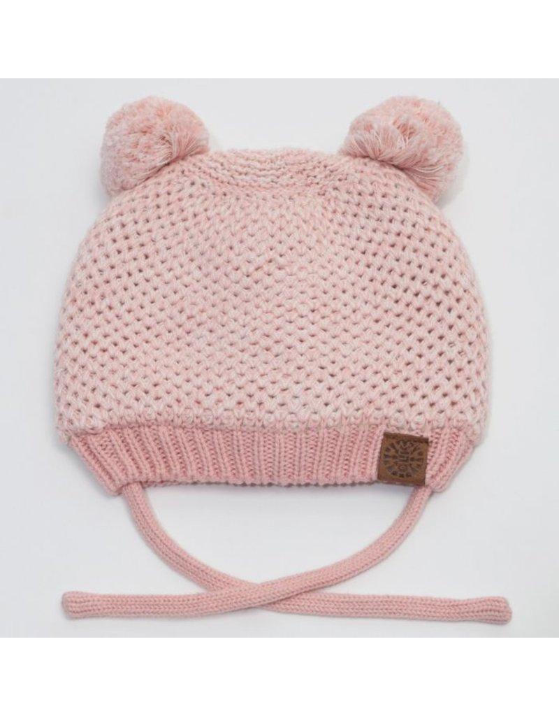 Baby Bear Hat, Pink Mix
