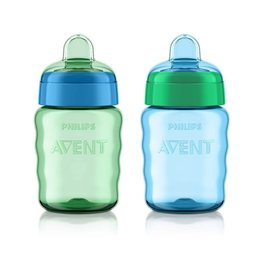 Philips Avent Easy Sippy Classic Spout Cup 9oz, 2pk