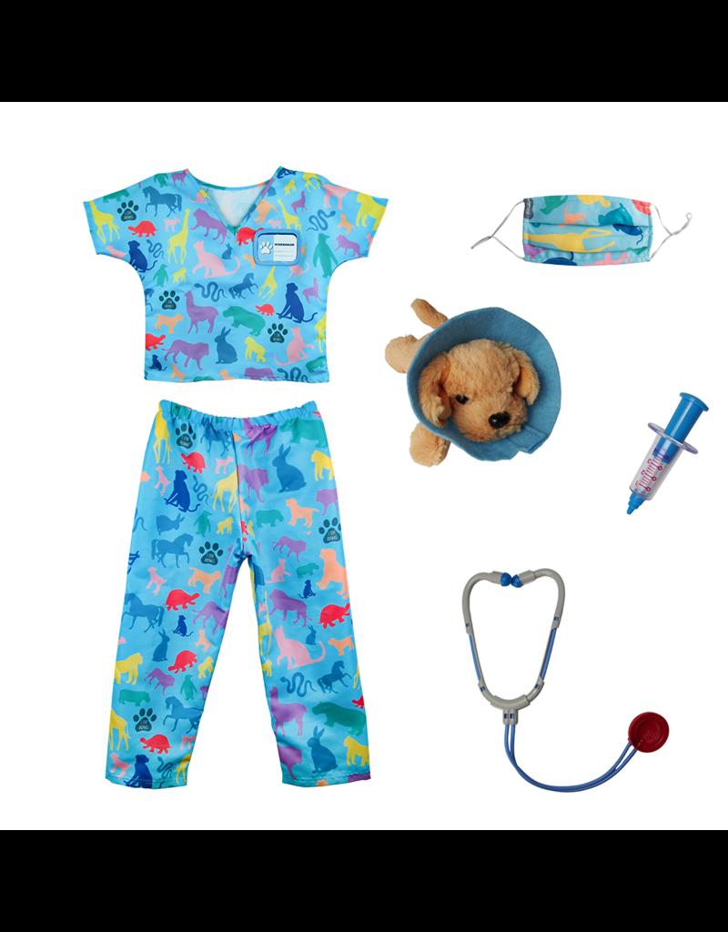 Great Pretenders Veterinarian Scubs (w/accessories), 5-6Y