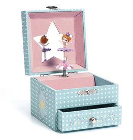 Djeco Music Jewelry Box - Delicate Ballerina