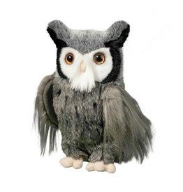 Douglas Toys Samuel Grey Great Horned Owl