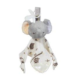 Douglas Toys Joey Gray Elephant Paci Lovey